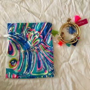 Lilly Pulitzer Tassel Bracelet Set